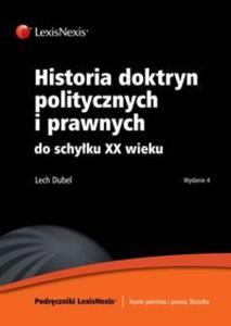 Historia doktryn politycznych i prawnych do schyłku XX wieku - 2825761574