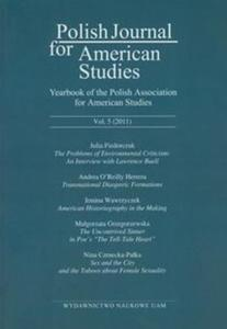 Polish Journal for American Studies vol. 5 / 2001 - 2825762271