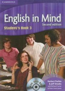 English in Mind 3 Student's Book + CD - 2825762461