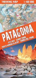 Patagonia 1:160 000 trekking map - 2857627918