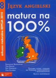 Matura na 100% J�zyk angielski Arkusze maturalne 2010 z p�yt� CD - 2825768198