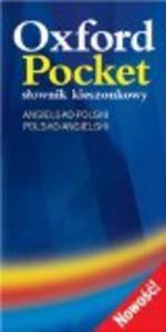 Oxford Pocket Slownik Kieszonkowy: Angielsko-Polski/Polski-Angielski - 2825655937
