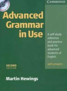 Advanced Grammar in Use (with answers) + CD - 2825655959