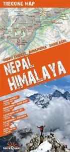 Nepal Himalaya mapa trekkingowa 1:1 100 000 - 2857634749