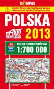 Polska mapa samochodowa 1:700 000 - 2825774780