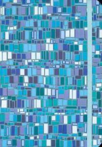 Notatnik Mini Niebieska Mozaika - 2825777106