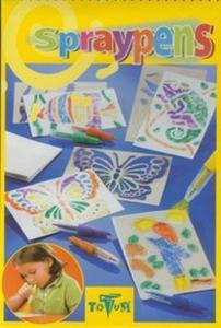 Spray Pens Rysunki z dmuchanymi flamastrami - 2857641742