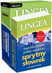 Sprytny słownik angielsko-polski i polsko-angielski z Lexiconem na CD - 2825777273