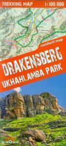Drakensberg Ukhahlamba Park 1:100 000 trekking map - 2857641842