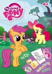 My Little Pony. Kolorowanka i naklejki (DPN-201) - 2857641944