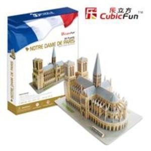 Puzzle 3D Katedra Notre Dame - 2825779312