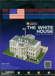 Puzzle 3d biały dom - 2825779314