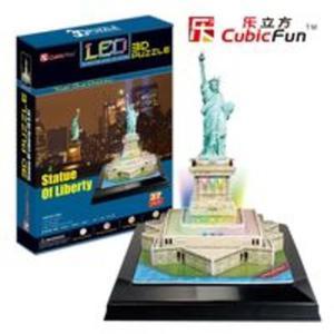 Puzzle 3d led statua wolności - 2825779334