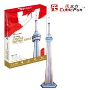Puzzle 3D Canada's National Tower - 2825779335