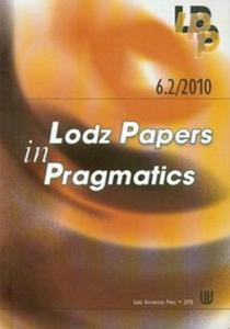6.2/2010 Lodz Papers in Pragmatics - 2853481799