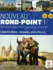 Nouveau Rond-Point 1 A1+A2 Podręcznik + CD