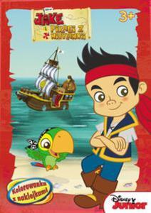 Jake i piraci z Nibylandii. Kolorowanka z naklejkami (NA-22) - 2825784187