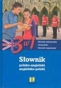 Słownik polsko-angielski, angielsko-polski 3 w 1