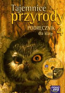 Tajemnice przyrody 4 podręcznik z płytą CD - 2825657191