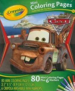 Crayola Mini Kolorowanka Disney Cars - 2857654050