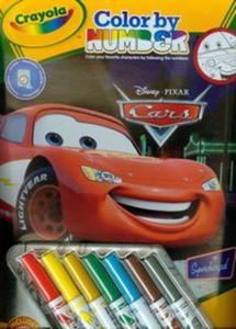 Crayola Kolorowanie po numerach Disney Cars - 2857654057