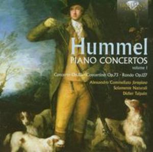Hummel: Piano Concertos Volume 1 - 2825789905