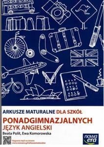 J�ZYK ANGIELSKI ARKUSZE MATURALNE MATURA PISEMNA ZPiR - 2825790193