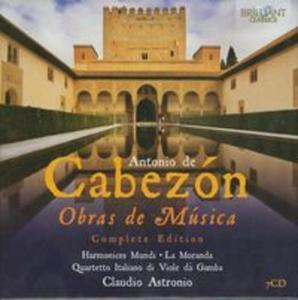 Cabezon: Obras de Musica - Complete Edition - 2857654709
