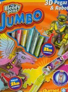 Blendy pens Jumbo 3D Pegaz - 2857654711