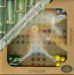 Bambusowe mini gry Chińczyk - 2857654737