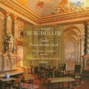 Burgmuller: Lieder Piano Sonata Op.8 - 2825790587