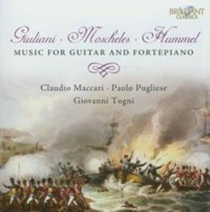 Giuliani & Moscheles & Hummel: Music for Guitar and Fortepiano - 2857655807