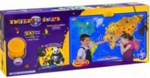 Zwierzęta świata Mapa interaktywna - 2825791331