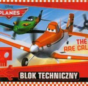 Blok techniczny Planes A4 10 kartek The Skies - 2857655904