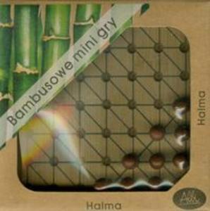 Bambusowe mini gry Halma - 2857656580