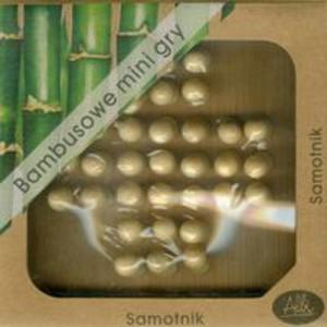 Bambusowe mini gry Samotnik - 2857656581