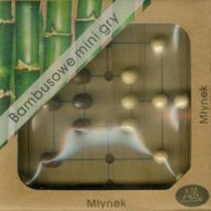 Bambusowe mini gry Młynek - 2857656582