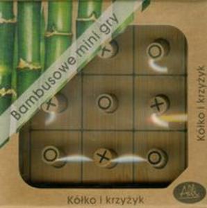 Bambusowe mini gry Kółko i krzyżyk - 2857656583