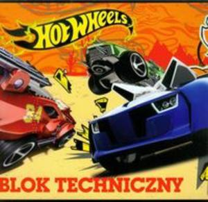 Blok techniczny Hot Wheels A4 10 kartek - 2857656702