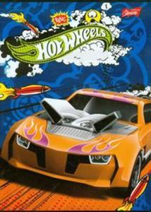 Zeszyt Hot Wheels A5 w 3 linie 16 kartek - 2857657432