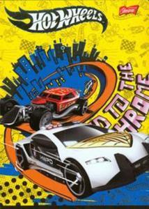 Zeszyt Hot Wheels A5 w linie 32 kartki żółty - 2857657455