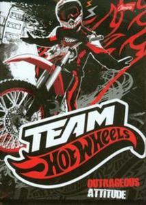 Zeszyt Team Hot Wheels A5 w linie 32 kartki czerwony - 2857657459