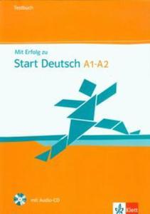 Mit Erfolg zu Start Deutsch A1-A2 Testbuch + CD - 2857658327