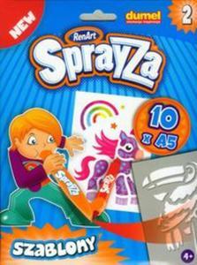 Sprayza Szablony Zestaw 2 - 2857660483