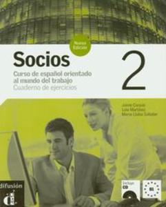 Socios 2 Cuaderno de ejercicios z płytą CD - 2825797233