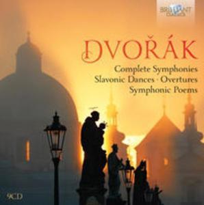 Dvorak: Complete symphonies, Slavonic dances, Overtures, Symphonic poems - 2857662213