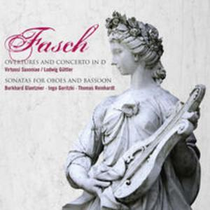 Fasch: Overtures and Concerto in D & Sonatas for oboes and basson - 2857662228