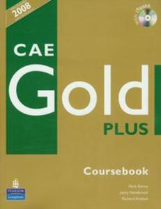 CAE Gold Plus Coursebook z płytą CD - 2857662336