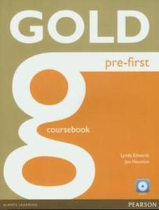 Gold Pre-First Coursebook z płytą CD - 2857662605