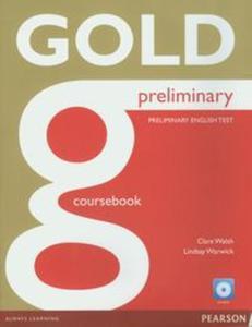 Gold Preliminary Coursebook z płytą CD-ROM - 2857662619